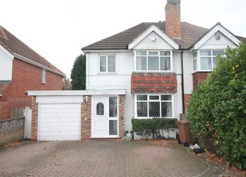 Thumbnail 3 bedroom semi-detached house for sale in Wherretts Well Lane, Solihull
