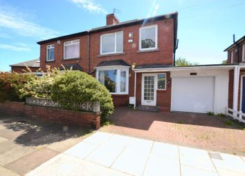 Thumbnail 3 bed semi-detached house to rent in Newton Road, High Heaton, Newcastle Upon Tyne