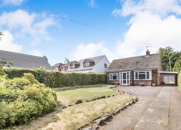 Thumbnail 2 bed detached bungalow for sale in Uppingham Road, Houghton-On-The-Hill, Leicester