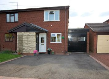 Thumbnail 3 bed semi-detached house for sale in Sweetbrier Drive, Stourbridge, West Midlands