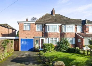 Thumbnail 4 bed semi-detached house for sale in Witherford Croft, Solihull