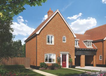 Thumbnail 3 bed detached house for sale in The Street, Bramford, Suffolk