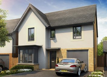"Thumbnail 4 bed detached house for sale in ""Somerton"" at Poplar Close, Plympton, Plymouth"