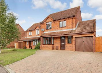 Thumbnail 3 bed detached house for sale in Cornwallis Drive, Eaton Socon, St. Neots