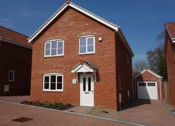 Thumbnail 4 bedroom detached house for sale in Walker Gardens, Wrentham, Beccles