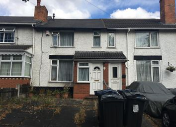 Thumbnail 2 bed terraced house for sale in St. Josephs Road, Ward End, Birmingham