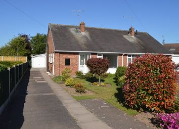 Thumbnail 2 bed semi-detached bungalow for sale in Cedar Close, Market Drayton