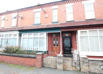 Thumbnail 4 bed terraced house for sale in Moreton Avenue, Stretford, Manchester
