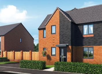 "Thumbnail 3 bedroom property for sale in ""The Sinderby At Riverbank View"" at Concord Place, Salford"
