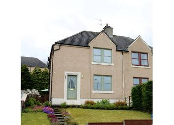 Thumbnail 3 bed semi-detached house for sale in Fountainpark Crescent, Bo'ness