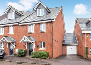 Thumbnail 3 bed town house for sale in Ducketts Mead, Shinfield