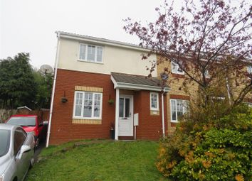 Thumbnail 3 bed end terrace house for sale in Heol Bryncelyn, Dafen, Llanelli
