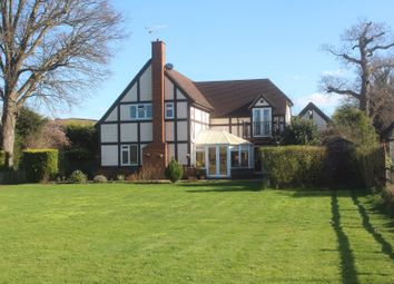 Thumbnail 4 bed detached house for sale in Parvis Road, West Byfleet