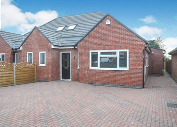 3 bed semi-detached bungalow for sale in Hall Road, Scraptoft, Leicester LE7