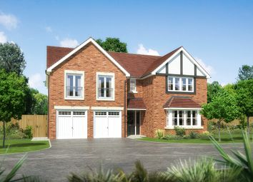 """Thumbnail 5 bed detached house for sale in """"Sandholme"""" at Palladian Gardens, Hooton Road, Hooton, Wirral"""