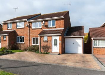 Thumbnail 3 bedroom semi-detached house for sale in Crundale Way, Cliftonville, Margate
