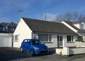 Thumbnail 2 bed semi-detached bungalow for sale in School Lane, Truro, Cornwall