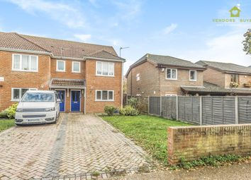 Thumbnail 3 bed end terrace house for sale in Hooks Lane, Havant