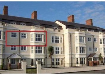 Thumbnail 2 bed flat for sale in Craig Y Don Parade, Llandudno