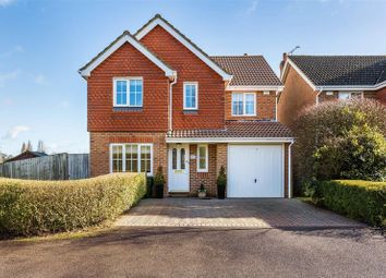 Thumbnail 4 bed detached house for sale in Danesfield, Ripley, Woking