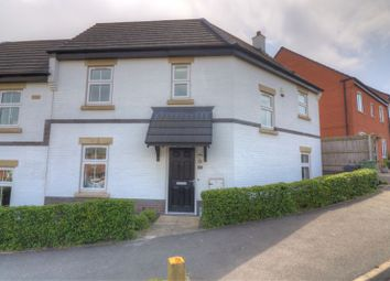 Thumbnail 3 bed semi-detached house for sale in Saxon Drive, Rothley, Leicester