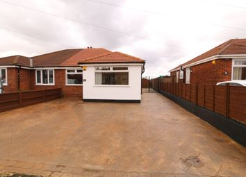 Thumbnail 2 bed bungalow for sale in Foxhall Road, Denton, Manchester