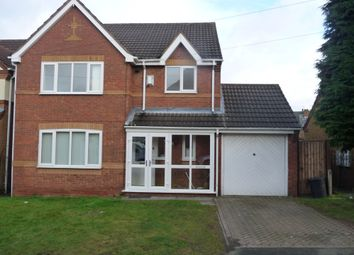 Thumbnail 4 bed detached house to rent in Wolseley Avenue, Acocks Green, Birmingham, West Midlands
