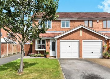 Thumbnail 3 bed semi-detached house for sale in Coach Way, Willington, Derby