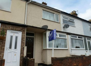 Thumbnail 3 bed terraced house to rent in Wollaston Road, Lowestoft