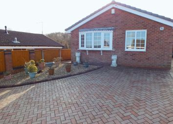 Thumbnail 2 bedroom detached bungalow to rent in Westmorland Close, Fegg Hayes, Stoke-On-Trent