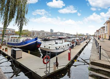 Thumbnail 2 bed houseboat for sale in Greenland Dock Marina, Rotherhithe