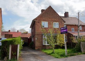 Thumbnail 3 bed semi-detached house for sale in Midland Road, Eastwood, Nottingham