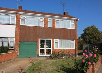 Thumbnail 3 bed semi-detached house for sale in St. Agnes Drive, Canvey Island