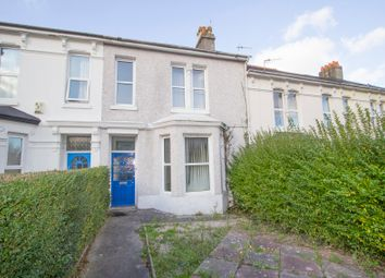 Thumbnail 4 bedroom terraced house for sale in Belgrave Road, Mutley, Plymouth