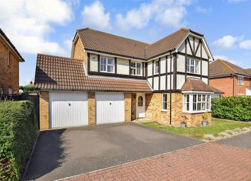 Thumbnail 4 bed detached house for sale in Kendal Meadow, Chestfield, Whitstable, Kent
