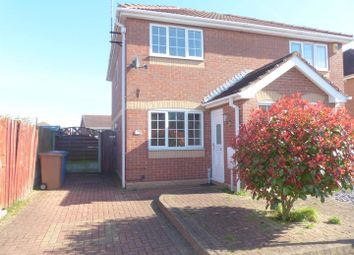 Thumbnail 2 bed semi-detached house to rent in Rosedale Way, Forest Town, Mansfield