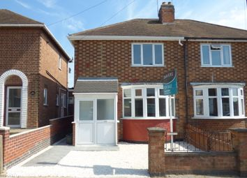 Thumbnail 3 bed semi-detached house for sale in Roydene Crescent, Leicester, Leicestershire