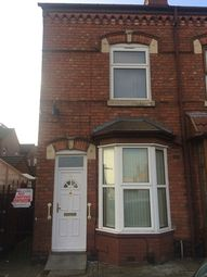 Thumbnail 3 bed end terrace house to rent in Fallows Road, Sparkbrook, Birmingham