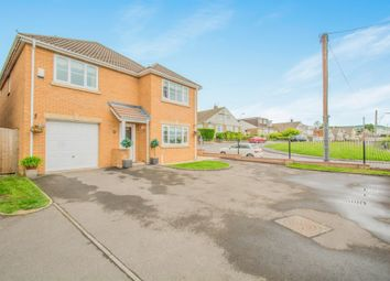 Thumbnail 4 bed detached house for sale in Oaktree Close, Brynna, Pontyclun