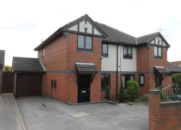 Thumbnail 3 bed semi-detached house for sale in Bar Lane, Mapplewell, Barnsley