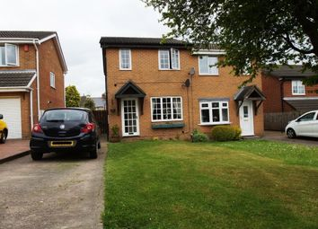 Thumbnail 2 bed semi-detached house for sale in Petterson Dale, Coxhoe, Durham