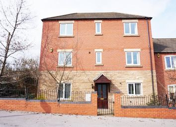 Thumbnail 4 bed town house to rent in Eakring Road, Mansfield