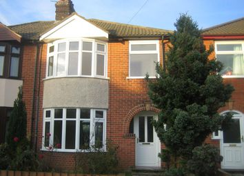 Thumbnail 3 bed property to rent in Dales View Road, Ipswich