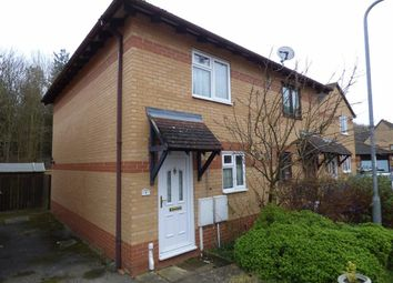 Thumbnail 2 bed semi-detached house for sale in Swan Close, Woodford Halse, Daventry