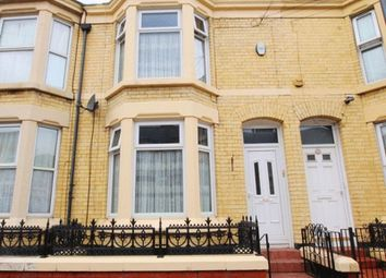 Thumbnail 3 bed terraced house for sale in Adelaide Road, Kensington, Liverpool