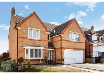 Thumbnail 4 bed detached house for sale in Hadleigh Close, Grantham