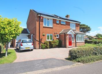 Thumbnail 4 bed detached house for sale in Grebe Close, Milford On Sea, Lymington