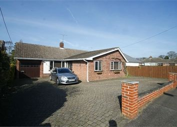 Thumbnail 3 bed detached bungalow for sale in Chandos Drive, Martlesham, Woodbridge