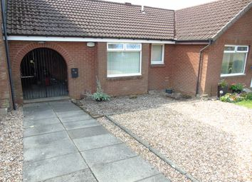 Thumbnail 1 bed terraced bungalow for sale in Springholm Drive, The Rushes, Airdrie, North Lanarkshire