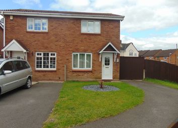 Thumbnail 2 bedroom semi-detached house to rent in Pebworth Grove, Dudley